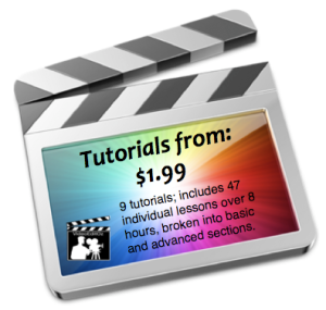 FCP Tutorials from 1.99
