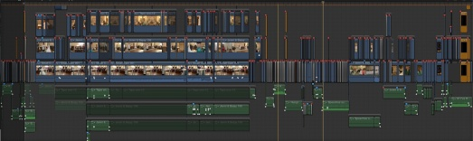 FCP X time line